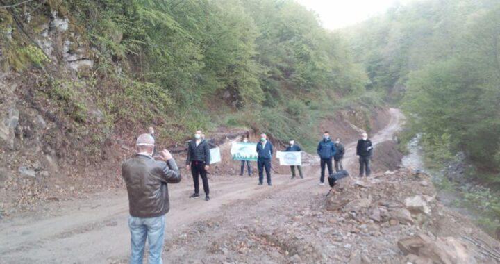 Građani i aktivisti protiv izgradnje mini hidroelektrane na Bjelavi