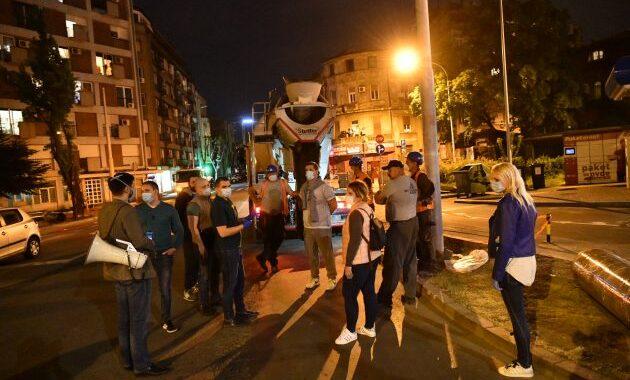 Komšije sa Dorćola: Protest građana na ulici uprkos zabrani kretanja