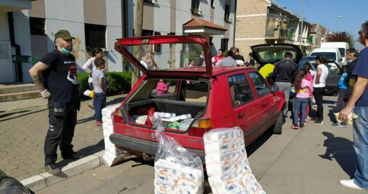 Združena akcija Krov nad glavom: Oko 700  ljudi dobilo  pakete hrane i higijene