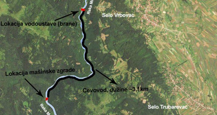 Sokobanja zaustavila gradnju MHE Osoja: Mratinja neće u cev dugu tri kilometra