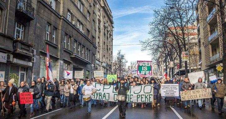 Veliki ekološki protest u Beogradu